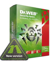 Dr.Web Security Space for Windows,Macs and Linux [3 years]