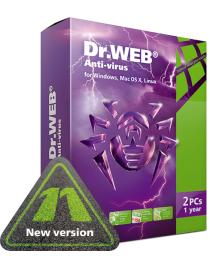 Dr Web Anti-virus for Windows,Macs and Linux [1 year]