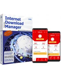 Internet Download Manager(Lifetime)+Adlock for Android(one year)