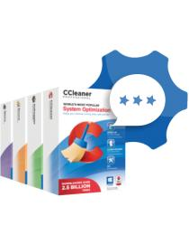 CCleaner with Premium Tech Support (1 year)